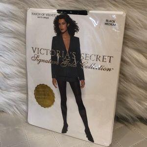 New! Victoria's Secret signature gold hosiery